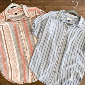 Bundle- Universal Thread short sleeve button ups